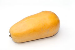 Isolado do fruto da papaia fotos de stock