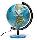 Isolado do globo Foto de Stock Royalty Free