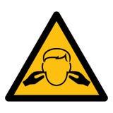 Isolado do sinal do símbolo do ruído no fundo branco, ilustração EPS do vetor 10 ilustração stock