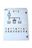 Isolado elétrico da caixa de controle Imagem de Stock
