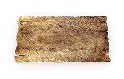 Isolado velho da placa de madeira Imagem de Stock