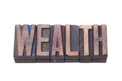 Isolador da madeira da riqueza imagens de stock