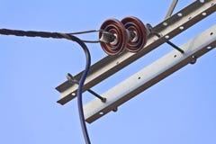 Isolador elétrico Imagens de Stock Royalty Free