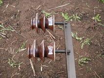 Isolador elétrico Imagem de Stock