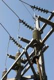Isoladores elétricos imagens de stock