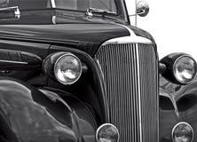 Isolamento classico dell'automobile Fotografia Stock
