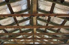 Isolamento del soffitto fotografia stock