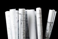 Isolamento di parecchi disegni per il progetto Immagini Stock