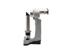 Isolamento do biomicroscope da lâmpada da régua do Portable no branco Imagens de Stock Royalty Free