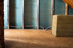 Isolamento domestico fotografia stock