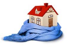 Isolamento domestico, isolato su bianco immagine stock