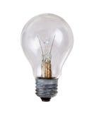 Isolamento fuori bruciato della lampadina su bianco Immagini Stock Libere da Diritti