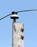 Isolant électrique image libre de droits