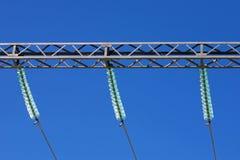 Isolants électriques photographie stock libre de droits