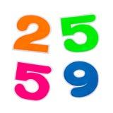 Isolat 2559 bunt lizenzfreie stockfotografie