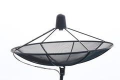 Isolat d'antenne parabolique Images stock
