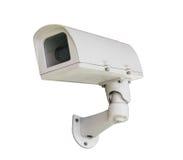 Isolat de caméra de sécurité de télévision en circuit fermé photo stock