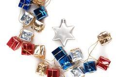 isolat de décoration de Noël Image stock