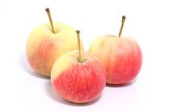 Isolat de las manzanas Imagen de archivo