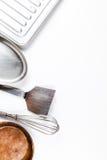 Isolat de los utensilios de la cocina Fotografía de archivo libre de regalías