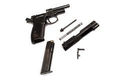 Isolat de pistolet Photos stock