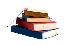 Isolat des alten Buches Stockfoto