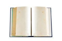 Isolat des alten Buches Stockfotos