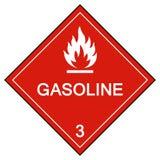 Isolat för bensinsymboltecken på vit bakgrund, vektorillustration EPS 10 stock illustrationer