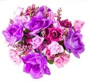 Isolat för konstgjorda blommor Arkivfoton