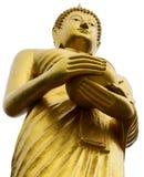 Isolat près de l'aumône de Bouddha photographie stock