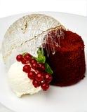 Isolatad extravagante da sobremesa no branco fotografia de stock royalty free
