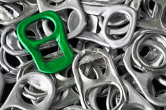 Isolate. This picture is the aluminum for recycling Stock Images