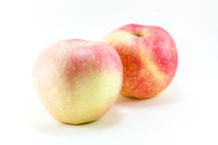 Isolate Apple. Isolate image,isolate two apple Royalty Free Stock Images