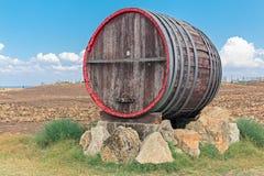 Isolate barrel Stock Photo