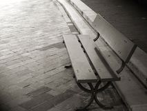 Isolate bench Stock Photos