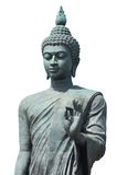 Isolate Big Buddha Stock Photo
