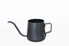 Isolate black tea pot on white background. Mini Isolate black tea pot on white background Stock Photo