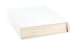 Isolate Book on white Royalty Free Stock Photos
