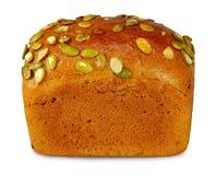 Isolate bread closeup Royalty Free Stock Photos