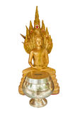 Isolate Buddha statue Stock Image