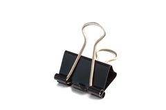Isolate bulldog clip Royalty Free Stock Photos