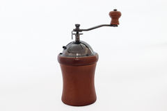 Isolate coffee grinder on white background. Stock Photo