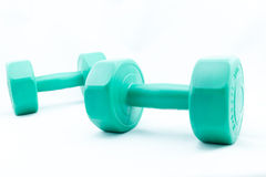 Isolate Dumbell Stock Photos