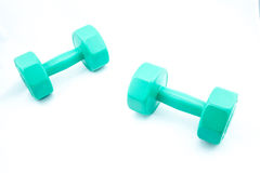 Isolate Dumbell Stock Images