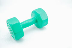 Isolate Dumbell Stock Photography