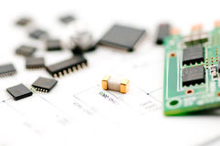 Isolate Electronic material Stock Images