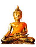Isolate, image of Buddha in a temple Stock Images