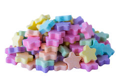 Isolate of Milk Tablet Candy Stock Image