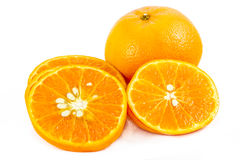 Isolate Orange Royalty Free Stock Image