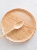 Isolate van houten plaat Stock Fotografie